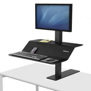 Lotus™ VE Sit-Stand Workstation - Single